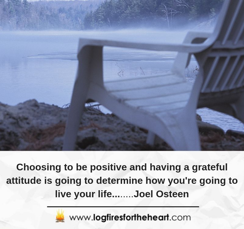 Choosing to be positive and having a grateful attitude is going to determine how you're going to live your life. ...................Joel Osteen