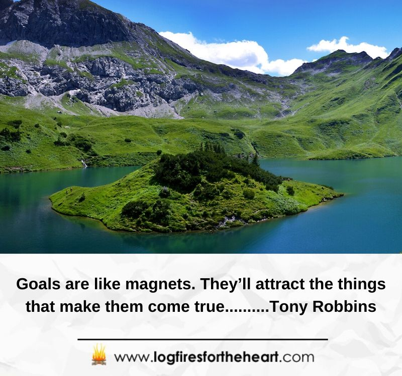 Goals are like magnets. They'll attract the things that make them come true..........Tony Robbins