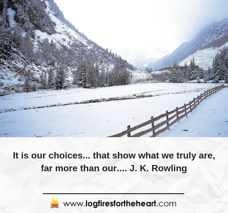 It is our choices... that show what we truly are, far more than our.... J. K. Rowling