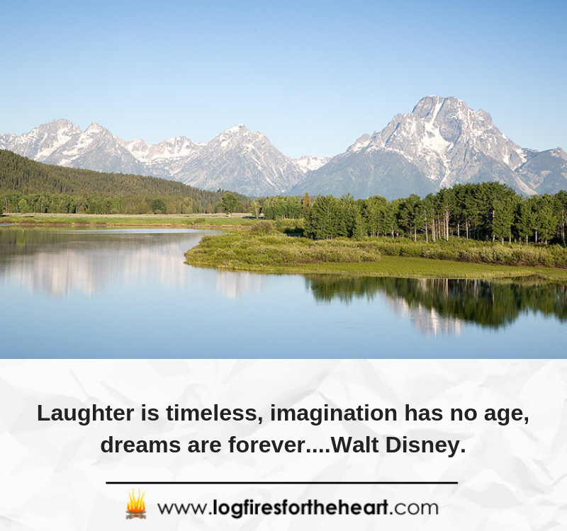 Laughter is timeless, imagination has no age, dreams are forever....Walt Disney.