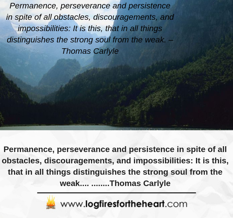 inspirational video quote -persevance and persistance