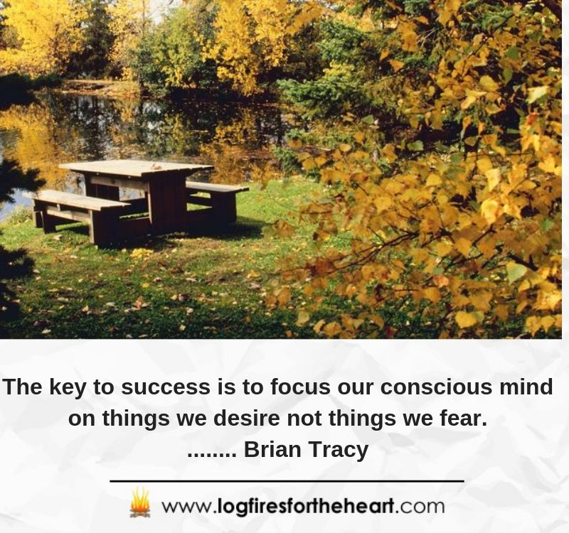 The key to success is to focus our conscious mind on things we desire not things we fear......... Brian Tracy
