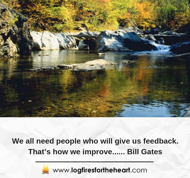 We all need people who will give us feedback. That's how we improve...... Bill Gates