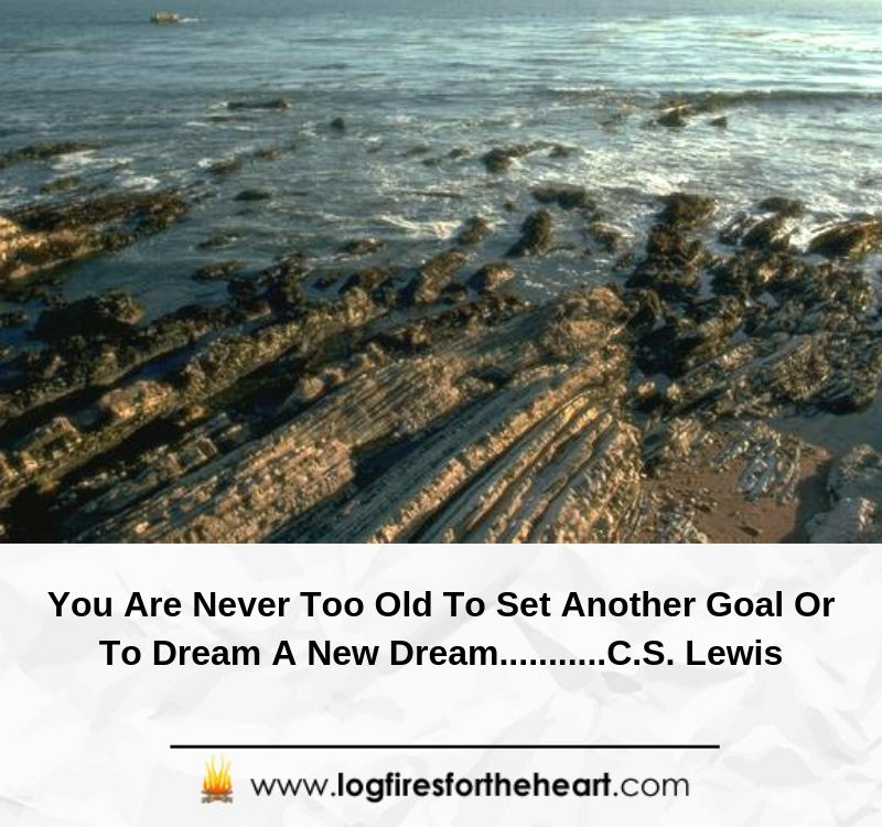 You Are Never Too Old To Set Another Goal Or To Dream A New Dream...........C.S. Lewis