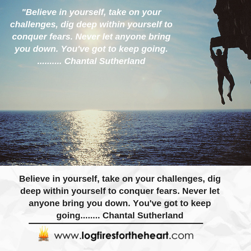 inspirational quote - believe in yourself